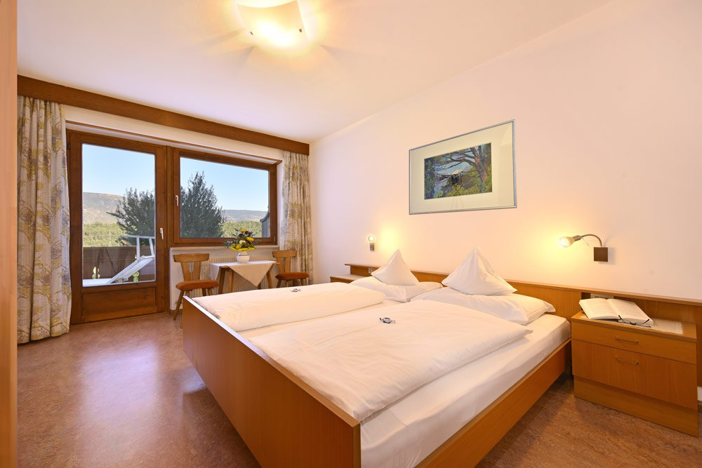Die Ferienwohnungen in der Pension Dolomitenblick